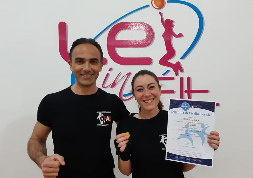 Passaggi di grado Kick Boxing Lei in Fit