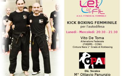 La Kick Boxing a DIFESA delle donne Lei in Fit
