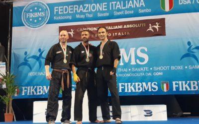 Due medaglie di bronzo per il titolare di Lei in Fit Vito De Toma, ai Campionati Assoluti & Trofeo Italia Kick Boxing 2019