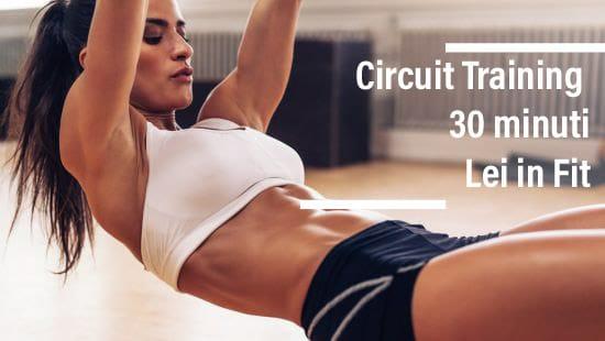 Scopri l'allenamento Circuit Training Lei in Fit (Parte 3)