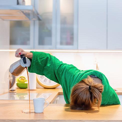 Un'alleata contro lo stress e stanchezza è l'attività fisica di rinforzo muscolare